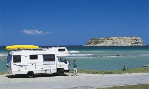freedom camping in a campervan Yellow how to